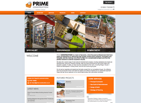 A Hole Productions - Artwork and Design - Prime Construction