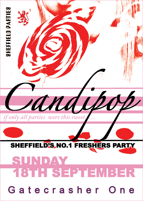 A Hole Productions - Artwork and Design - Gatecrasher - Candipop
