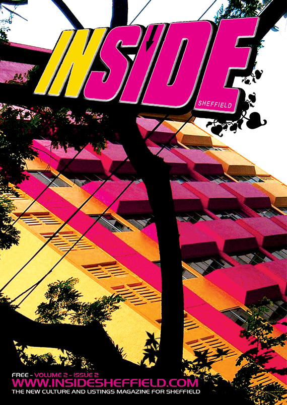 A Hole Productions - Artwork and Design - inside Magazine - Cover Art