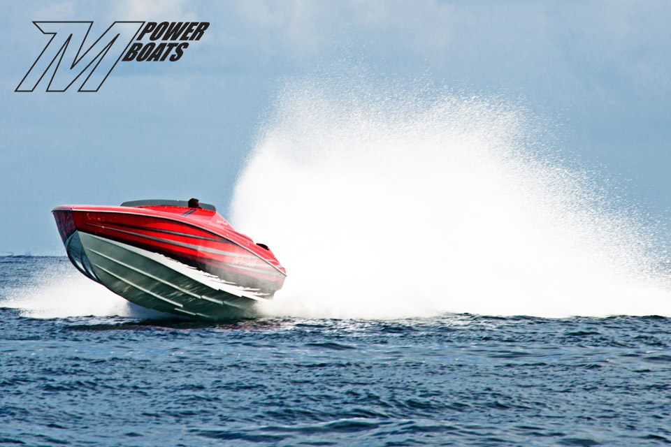 A Hole Productions - Artwork and Design - M-Power Boats - Poster